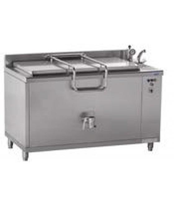 400 literes főzőüst, indirekt (gázos)
